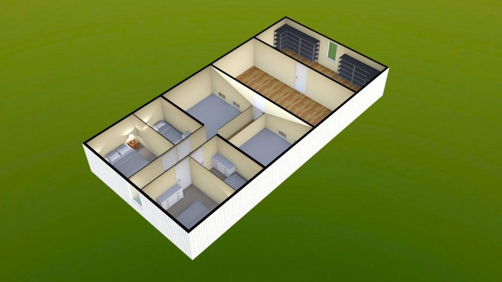 Sit Perpetuum Lodge - First Floor Render 4