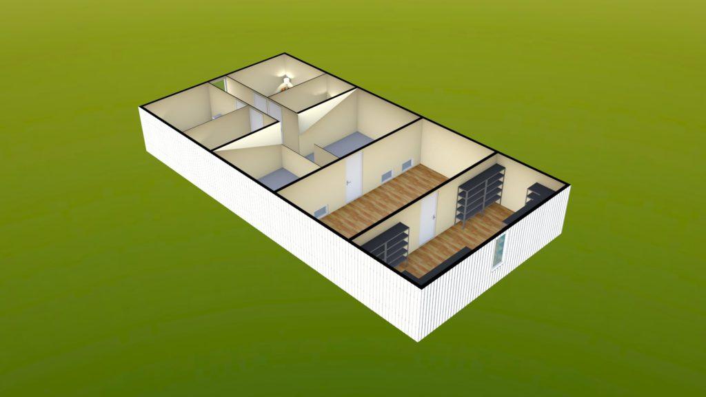 Sit Perpetuum Lodge - First Floor Render 3